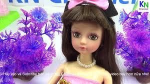 KN Channel - Đồ chơi trẻ em Bé Na Búp bê Clara xinh đẹp...