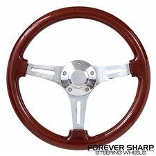 Classic Wood Chrome Ezgo Golf Cart Gem Par Car Star Steering Wheel Set Walmart Com Walmart Com