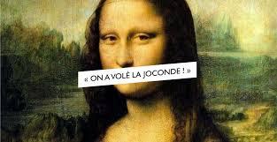 """Kradzież """"Mona Lisy"""" - nagłówek - Francuski przy kawie"""