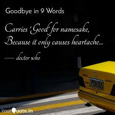 carries good for sa quotes writings by doctor who