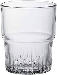 empilable glass tumbler set