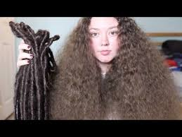 taking out my dreadlocks you