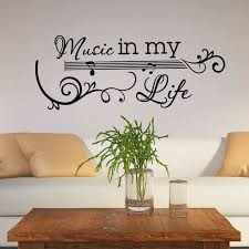 Guitar Wall Decal Music Vinyl Lettering Wall Decals Quotes Etsy