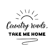 West Virginia Car Window Decal Country Roads Decal Wv Home Roots 6 09 Picclick