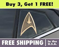Star Trek Science Insignia Car Window Bumper Laptop Vinyl Decal Sticker 3 99 Picclick