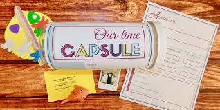 how to make a wonderful family time capsule printable