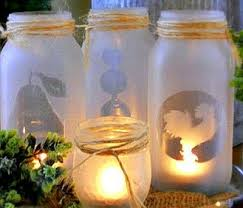 craft projects using glass jars