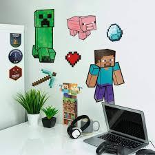Minecraft Wall Decals Lost Universe