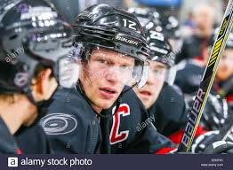 Carolina Hurricanes center Eric Staal (12) during the NHL game ...