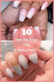 dip powder nail designs diy nails