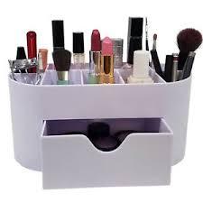 storage organizer makeup brush holder