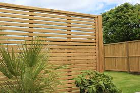 Venetian Fence Panels Timber Commercial Fencing Jacksons Security Fencing