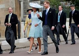 Royal Wedding 2019: Sophie Winkleman chic in blue as she makes entrance  with Prince Harry   Celebrity News   Showbiz & TV   Express.co.uk