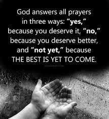 god does not answer every prayer paul e bollinger iii