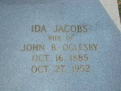 Ida Jacobs Oglesby (1885-1952) - Find A Grave Memorial