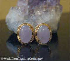 oval cabochon lavender jade