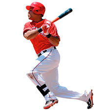 Texas Rangers Adrian Beltre Fathead Life Size Removable Wall Decal