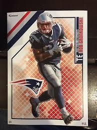 Rob Gronkowski New England Patriots 2011 Fathead Wall Decal 40 X 78 45 00 Picclick