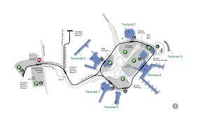airport maps jfk john f kennedy