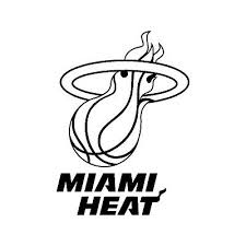 Miami Heat El Heat Basketball Nba Window Vinyl Decal Car Sticker Fast S Fl