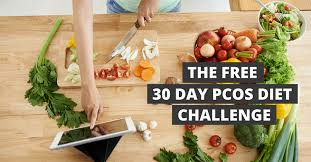 The 30 Day PCOS Diet Challenge - Meal Plans, Recipes + Shopping Lists