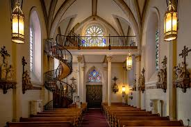 helix staircase of the loretto chapel