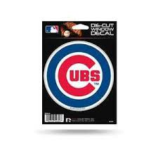 Chicago Cubs Official 5 Die Cut Car Decal Rico