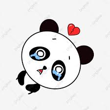 نسخة Q جميل رسوم متحركة حيوان صغير الباندا حزمة التعبيرات نسخة