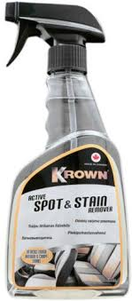 Krown Active Spot And Stain Remover Cleaning Car Interior Stain Tough Stain