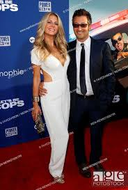 Let's Be Cops' Los Angeles premiere - Arrivals Featuring: Sarah Greenfield,  Stock Photo, Picture And Rights Managed Image. Pic. WEN-WENN21606199    agefotostock