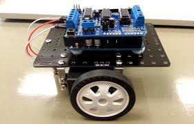 arduino based floor cleaning robot