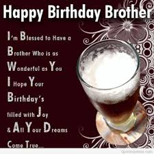 the all time best birthday wishes for brother