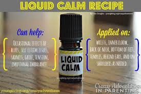 calm recipe with young living oils