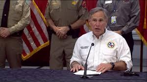 Texas Gov. Greg Abbott prepares for tropical weather aiming at Texas -  ABC13 Houston