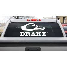 Final Flight Outfitters Inc Drake Waterfowl Drake Large Window Decal