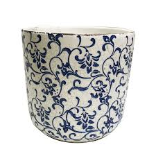 garden treasures ceramic planter for