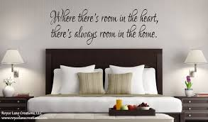 Guest Bedroom Wall Decal Where There S Room In The Heart Etsy