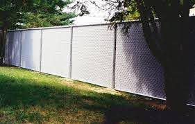 Chain Link With Slats Quality Fence Company Www Qualityfence Com New Jersey Vinyl Pvc Fence Serving Sayreville Nj Old Bridge Nj East Brunswick Nj Monroe Nj Custom Wood Picket Chain Link