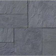 gray large pavers hardscapes