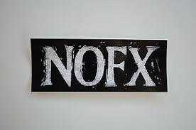 Nofx Sticker Decal Car Bumper Window Punk Indoor Outdoor Approx 4 X 1 75 11 Ebay
