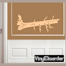 Landscape Tree Line Wall Decal Vinyl Decal Car Decal Ns027 Car Decals Vinyl Deer Wall Decal Mountain Wall Decal