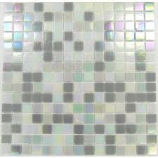 iridecsent glass mosaic tiles sheet