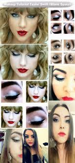 makeup tutorial taylor swift blank