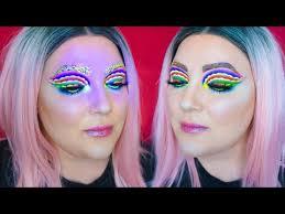 festival rave makeup brittany balyn