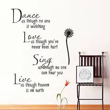 Dom I Meble Dance Like No One Is Watching Sing Mark Twain Wall Decal Vinyl Sticker Quote I96 Dekoracje A2btravel Ge