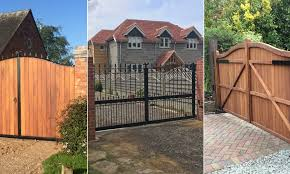 Gate Material What Is Best Guide By Gates And Fences Uk