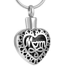 memorial urn necklace hold ashes