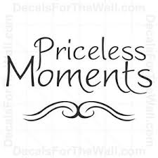 priceless moments family wall decal vinyl art sticker quote decor