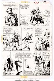 John Buscema Conan the Barbarian Movie Special #2 Page 6 Original | Lot  #12018