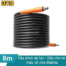 8m Dây phun áp lực cho máy phun xịt rửa Makita - Ống dây áp lực cao máy rửa  xe Makita - Ống dây rửa xe thay thế cho máy rửa xe